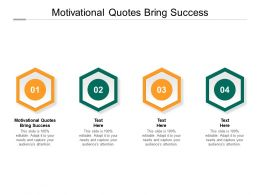 Motivational Quotes Bring Success Ppt Powerpoint Presentation Summary Background Image Cpb