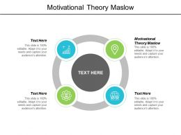 Motivational Theory Maslow Ppt Powerpoint Presentation Portfolio Professional Cpb