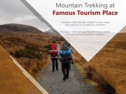 Mountain Trekking At Famous Tourism Place