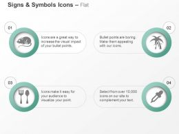 Mouse Spoon Fork Tree Dropper Ppt Icons Graphics