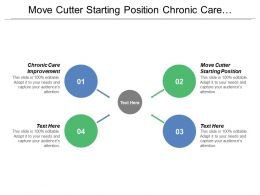 Move Cutter Starting Position Chronic Care Improvement Practice Teams