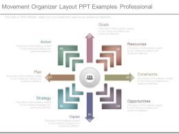Movement Organizer Layout Ppt Examples Professional