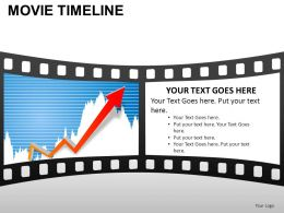 Movie Timeline Powerpoint Presentation Slides