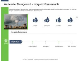 Moving Toward Environment Sustainability Wastewater Management Inorganic Contaminants Ppt Tips