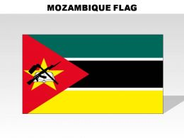 Mozambique Country Powerpoint Flags