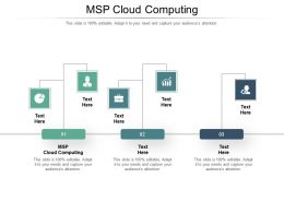 MSP Cloud Computing Ppt Powerpoint Presentation Infographic Template Graphics Design Cpb