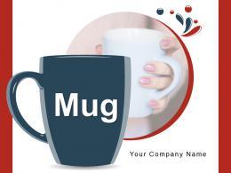 Mug Assortment Antique Ceramic Carrying Individual Surface