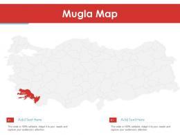 Mugla Map Powerpoint Presentation PPT Template