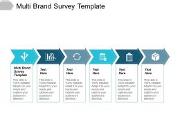Multi Brand Survey Template Ppt Powerpoint Presentation File Graphics Pictures Cpb