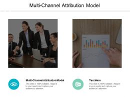 Multi Channel Attribution Model Ppt Powerpoint Presentation Summary Format Cpb