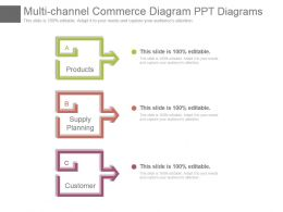 Multi Channel Commerce Diagram Ppt Diagrams