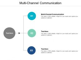 Multi Channel Communication Ppt Powerpoint Presentation Summary Elements Cpb