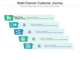 Multi Channel Customer Journey Ppt Powerpoint Presentation Gallery Portrait Cpb