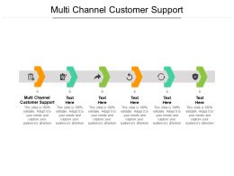 Multi Channel Customer Support Ppt Powerpoint Infographic Template Clipart Cpb