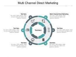 Multi Channel Direct Marketing Ppt Powerpoint Presentation Summary Smartart Cpb