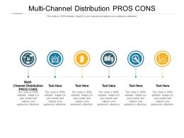 Multi Channel Distribution Pros Cons Ppt Powerpoint Presentation File Styles Cpb