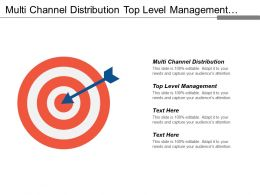 Multi Channel Distribution Top Level Management Aware Capabilities