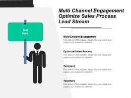 Multi Channel Engagement Optimize Sales Process Lead Stream Cpb