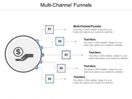 Multi Channel Funnels Ppt Powerpoint Presentation Pictures Deck Cpb