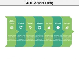 Multi Channel Listing Ppt Powerpoint Presentation Ideas Outline Cpb