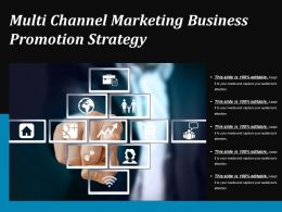 Multi Channel Marketing Business Promotion Strategy