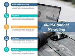 Multi Channel Marketing Ppt Powerpoint Presentation Professional Slide Portrait Cpb