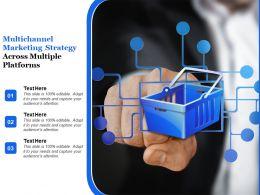 Multi Channel Marketing Strategy Across Multiple Platforms