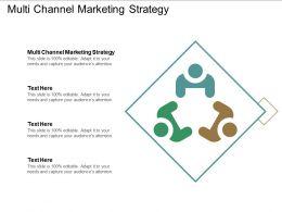 Multi Channel Marketing Strategyppt Powerpoint Presentation Information Cpb