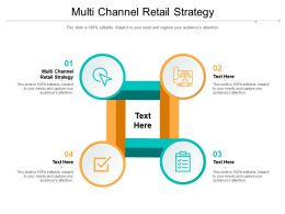 Multi Channel Retail Strategy Ppt Powerpoint Presentation Inspiration Infographics Cpb