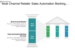 Multi Channel Retailer Sales Automation Banking Services Claims Management Cpb