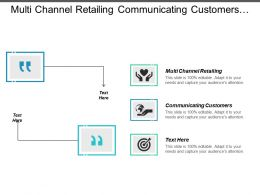 Multi Channel Retailing Communicating Customers Organizational Models Introduction Entrepreneurship Cpb