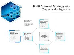 Multi Channel Strategy With Output And Integration