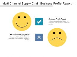 Multi Channel Supply Chain Business Profile Report Retail Revenue Management Cpb