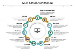 Multi Cloud Architecture Ppt Powerpoint Presentation Infographic Template Smartart Cpb