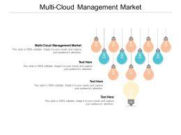 Multi Cloud Management Market Ppt Powerpoint Presentation Inspiration Icons Cpb