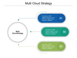 Multi Cloud Strategy Ppt Powerpoint Presentation File Icon Cpb