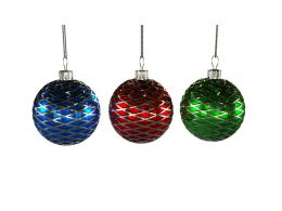 Multi Color Christmas Balls For Festive Season Stock Photo
