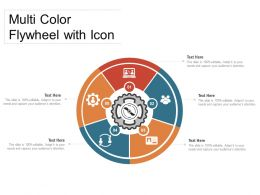Multi Color Flywheel With Icon