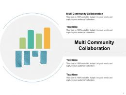 Multi Community Collaboration Ppt Powerpoint Presentation File Templates Cpb