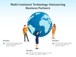 Multi Continent Technology Outsourcing Business Partners