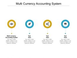 Multi Currency Accounting System Ppt Powerpoint Presentation Icon Portfolio Cpb