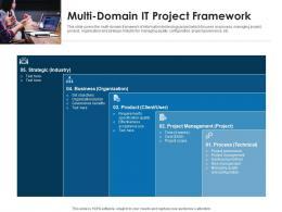 Multi Domain IT Project Framework