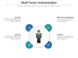 Multi Factor Authentication Ppt Powerpoint Presentation Infographic Template Graphics Cpb