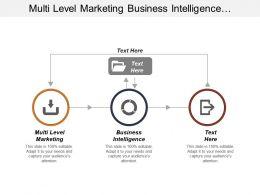 Multi Level Marketing Business Intelligence Management Information Systems