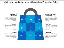 Multi Level Marketing Internet Marketing Promotion Sales Management Cpb
