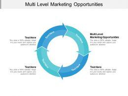 Multi Level Marketing Opportunities Ppt Powerpoint Presentation Styles Ideas Cpb