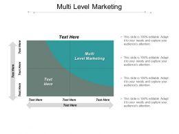 Multi Level Marketing Ppt Powerpoint Presentation Styles Format Cpb