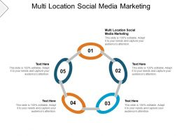 Multi Location Social Media Marketing Ppt Powerpoint Presentation Gallery Cpb