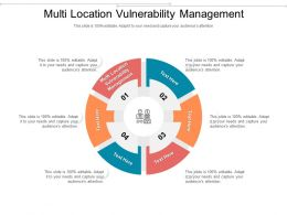 Multi Location Vulnerability Management Ppt Powerpoint Presentation Ideas Show Cpb