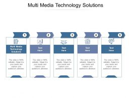 Multi Media Technology Solutions Ppt Powerpoint Presentation Slides Background Cpb